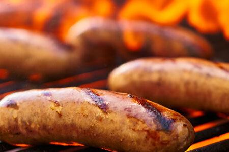 Salsiccia toscana alla griglia